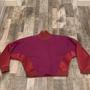 Adidas STELLA MCCARTNEY neoprene sweatshirt L